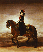 0301063 © Granger - Historical Picture ArchiveFINE ART.   Maria Luisa on horseback, by Francisco de Goya (1746-1828). Full Credit: DEA PICTURE LIBRARY / Granger, NYC -- All Rights Reserved.