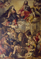 0302290 © Granger - Historical Picture ArchiveFINE ART.   Madonna of the people, 1579, by Federico Barocci (1528-1612), oil on canvas, 360x250 cm. Full Credit: DEA / G. NIMATALLAH / Granger, NYC -- All rights reserved.
