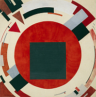 0302841 © Granger - Historical Picture ArchiveFINE ART.   Proun, ca 1922, El Lissitzky (1890-1941). Full Credit: DEA / M. CARRIERI / Granger, NYC -- All rights reserv