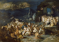 0305657 © Granger - Historical Picture ArchiveFINE ART.   Neptune's Baths, by Frans Francken II or Francken the Younger (1581-1642). Full Credit: DEA / A. DAGLI ORTI / Granger, NYC -- All rights reserved.