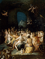 0305658 © Granger - Historical Picture ArchiveFINE ART.   Neptune's Baths, by Frans Francken II or Francken the Younger (1581-1642). Full Credit: DEA / A. DAGLI ORTI / Granger, NYC -- All rights reserved.