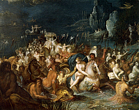 0305659 © Granger - Historical Picture ArchiveFINE ART.   Neptune's Baths, by Frans Francken II or Francken the Younger (1581-1642). Full Credit: DEA / A. DAGLI ORTI / Granger, NYC -- All rights reserved.