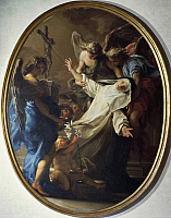0305988 © Granger - Historical Picture ArchiveFINE ART.   Ecstasy of Saint Catherine of Siena, 1743, by Pompeo Batoni (1708-1787). Full Credit: DEA PICTURE LIBRARY / Granger, NYC -- All rights reserved.