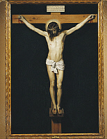 0306123 © Granger - Historical Picture ArchiveFINE ART.   Christ on the Cross, 1631, by Diego Velazquez (1599-1660), oil on canvas, 248x169 cm. Full Credit: DEA PICTURE LIBRARY / Granger, NYC -- All rights reserved.