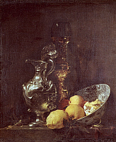 0306428 © Granger - Historical Picture ArchiveFINE ART.   Still life, by Willem Kalf (1619-1693). Full Credit: DEA / M. CARRIERI / Granger, NYC -- All rights reserved
