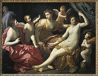 0307253 © Granger - Historical Picture ArchiveFINE ART.   Guido Reni (1575-1642), The Four Seasons. Full Credit: DEA / G. NIMATALLAH / Granger, NYC -- All rights rese