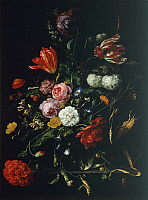 0307318 © Granger - Historical Picture ArchiveFINE ART.   Still life, by Jan Davidsz de Heem (1606-1683). Full Credit: DEA / G. NIMATALLAH / Granger, NYC -- All right