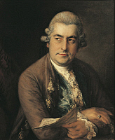 0307523 © Granger - Historical Picture ArchiveFINE ART.   Germany - 18th century. Portrait of Johann Christian Bach (Leipzig, 1735 - London, 1782), German composer. Full Credit: DEA / A. DAGLI ORTI / Granger, NYC -- All rights