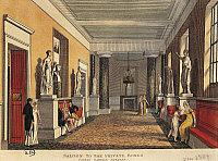 0307635 © Granger - Historical Picture ArchiveFINE ART.   United Kingdom, England, The foyer at Covent Garden in London, engraving, 1809 19th century, Bibliotheque des Arts Decoratifs (Library). Full Credit: DEA / G. DAGLI ORTI / Granger, NYC -- All rights reserved.