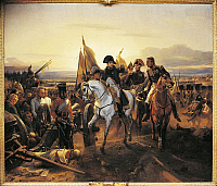 0307714 © Granger - Historical Picture ArchiveFINE ART.   Horace Vernet (1789-1863), The Battle of Friedland, 14th June 1807. Full Credit: DEA / G. DAGLI ORTI / Granger, NYC -- All Rights Reserved.
