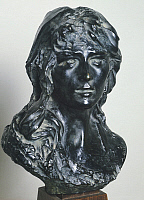 0308487 © Granger - Historical Picture ArchiveFINE ART.   Mignon (Portrait of Rose Beuret), by Auguste Rodin (1840-1917), portrait. Full Credit: DEA / J. M. ZUBER / Granger, NYC -- All Rights Reserved.