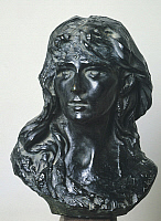 0308488 © Granger - Historical Picture ArchiveFINE ART.   Mignon (Portrait of Rose Beuret), by Auguste Rodin (1840-1917), portrait. Full Credit: DEA / J. M. ZUBER / Granger, NYC -- All Rights Reserved.