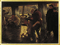 0308730 © Granger - Historical Picture ArchiveFINE ART.   James Jacques Joseph Tissot (1836-1902), The Return of the Prodigal Son. Full Credit: DEA / G. DAGLI ORTI / Granger, NYC -- All rights reserved.