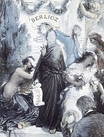 0309151 © Granger - Historical Picture ArchiveFINE ART.   Watercolor lithograph commemorating the centenary of the birth of Hector Berlioz, 1903, by Henri Fantin-Latour (1836-1904). Full Credit: DEA / G. DAGLI ORTI / Granger, NYC -- All Rights Reserved.