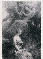 0309157 © Granger - Historical Picture ArchiveFINE ART.   The Damnation of Faust (La damnation de Faust) by Henri Fantin-Latour (1836-1904), inspired by the opera by Hector Berlioz (1803-1869), litograph, 1888 20th century, Musee Hector Berlioz. Full Credit: DEA / G. DAGLI ORTI / Granger, NYC -- All Rights Reserved.