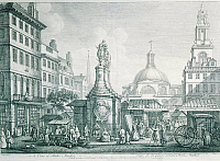 0309338 © Granger - Historical Picture ArchiveFINE ART.   United Kingdom - Great Britain - England - London - 18th century. The London Stock Exchange, engraving. Full Credit: DEA / A. DAGLI ORTI / Granger, NYC -- All rights re