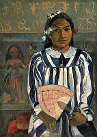 0309829 © Granger - Historical Picture ArchiveFINE ART.   The ancestors of Teha 'Amana (Merahi Metua No Teha' Amana), by Paul Gauguin (1848-1903). Full Credit: DEA PICTURE LIBRARY / Granger, NYC -- All rights reserved.