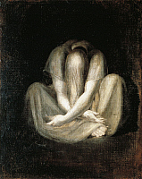 0310569 © Granger - Historical Picture ArchiveFINE ART.   The silence, by Johann Heinrich Fussli (1741-1825), 63x51 cm. Full Credit: DEA PICTURE LIBRARY / Granger, NYC -- All Rights Reserved.