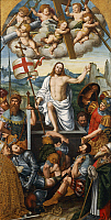 0313280 © Granger - Historical Picture ArchiveFINE ART.   The Resurrection of Christ, by Giuseppe Giovenone (1524-1608). Full Credit: DEA PICTURE LIBRARY / Granger, NYC -- All Rights Reserved.
