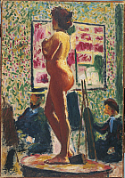 0313794 © Granger - Historical Picture ArchiveFINE ART.   Albert Marquet (1875-1947), Nude in the Atelier. Full Credit: Copyright DEA PICTURE LIBRARY / Granger, NYC -- All Rights Reserved.