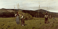 0314149 © Granger - Historical Picture ArchiveFINE ART.   The Macchiaioli (Italian art group), by Giovanni Fattori (1825-1908). Full Credit: DEA / G. DAGLI ORTI / Granger, NYC -- All Rights Reserved.