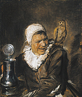0314199 © Granger - Historical Picture ArchiveFINE ART.   Malle Babbe (The Witch of Haarlem), 1633-1635, by Frans Hals (ca 1581-1666), oil on canvas, 75x64 cm. Full Credit: DEA PICTURE LIBRARY / Granger, NYC -- All rights rese