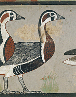 0321665 © Granger - Historical Picture ArchiveANCIENT EGYPT.   Egyptian civilisation. Meidum geese painting, detail. Full Credit: DEA / A. DAGLI ORTI / Granger, NYC -- All Rights Reserved.