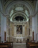 0330739 © Granger - Historical Picture ArchiveART & ARCHITECTURE.   Interior of the Chapel of Villa Aldobrandini, Frascati. Italy, 16th-17th century. Full credit: De Agostini / A. De Gregorio / Granger, NYC -- All rights reser