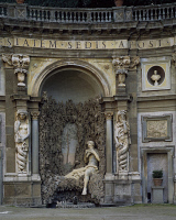 0331811 © Granger - Historical Picture ArchiveART & ARCHITECTURE.   Pan's Fountain, Villa Aldobrandini, Frascati. Italy, 16th century. Full credit: De Agostini / G. Dagli Orti / Granger, NYC -- All rights reserved.