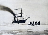 0339243 © Granger - Historical Picture ArchiveHISTORY.   Expedition to the north pole by Count Johann Nepomuk Wilczek (1837-1922), 1872, photograph by Wilhelm Burger (1844-1920). Arctic, 19th century. Full credit: De Agostini Picture Library / Granger, NYC -- All rights reserved.
