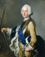 0340403 © Granger - Historical Picture ArchiveHISTORY.   Portrait of Adolf Frederick of Sweden (Gottorp, 1710-Stockholm, 1771), King of Sweden. Painting by Lorenz Pasch. Full credit: De Agostini / A. Dagli Orti / Granger, NYC -- All Rights Reserved.