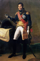 0340488 © Granger - Historical Picture ArchiveHISTORY.   Portrait of Andrea Massena (Nice, 1758-1817), Duke of Rivoli, Prince of Essling, French general. Painting by Fontaine, copy after Antoine-Jean Gros (1771-1835). Full credit: De Agostini / G. Dagli Orti / Granger, NYC -- All right
