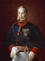 0341099 © Granger - Historical Picture ArchiveHISTORY.   Portrait of Francis I of the Two Sicilies (Naples, 1777-1830), King of the Two Sicilies (1825-1830). Son of Ferdinand IV of Naples and Maria Carolina of Austria. Painting attributed to Giuseppe Cammarano (1766-1850), oil on canvas, 130x103 cm. Full credit: De Agostini / L. Pedicini / Granger, NYC -- All Rights Reserved.