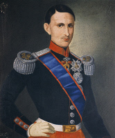 0341110 © Granger - Historical Picture ArchiveHISTORY.   Portrait of Francis II of the Two Sicilies (Naples, 1836-Arco, 1894), King of the Kingdom of the Two Sicilies. Full credit: De Agostini / R. Crocella'  / Granger, NYC -- All Rights Reserved.