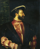 0341119 © Granger - Historical Picture ArchiveHISTORY.   Portrait of Francis III, Duke of Brittany (Cognac, 1494-Rambouillet, 1547). Painting by Titian (ca 1485-1576). Full credit: De Agostini / G. Dagli Orti / Granger, NYC -- All Rights Reserved.
