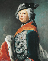 0341178 © Granger - Historical Picture ArchiveHISTORY.   Portrait of Frederick II of Brandenburg (Berlin, 1712-Potsdam, 1786), King of Prussia. Full credit: De Agostini Picture Library / Granger, NYC -- All rights reserved.