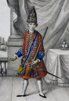 0341183 © Granger - Historical Picture ArchiveHISTORY.   Portrait of Frederick II of Brandenburg, known as The Great (Berlin, 1712-Potsdam, 1786), King of Prussia as a child. Full credit: De Agostini / A. Dagli Orti / Granger, NYC -- All Rights Reserved.