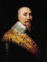 0341349 © Granger - Historical Picture ArchiveHISTORY.   Portrait of Gustav II Adolf, known as The Great (Stockholm, 1594-Lutzen, 1632), King of Sweden. Painted by an unknown Dutch artist. Full credit: De Agostini / A. Dagli Orti / Granger, NYC -- All rights reserved.