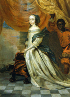 0341357 © Granger - Historical Picture ArchiveHISTORY.   Portrait of Hedvig Eleonora of Holstein-Gottorp (Gottorp, 1636-Stockholm, 1715), Queen of Sweden. Painting by Abraham Wuchters (1608-1682). Full credit: De Agostini / A. Dagli Orti / Granger, NYC -- All rights reserved.