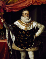0341386 © Granger - Historical Picture ArchiveHISTORY.   Portrait of Henry IV of France (Pau, 1553-Paris, 1610). Painting by Frans Pourbus the Younger (1569-1622). Full credit: De Agostini / G. Nimatallah / Granger, NYC -- All Rights Reserved.