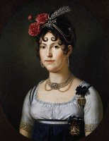 0341867 © Granger - Historical Picture ArchiveHISTORY.   Portrait of Maria Luisa of Spain, Duchess of Lucca (San Ildefonso, 1782-Rome, 1824), Infanta of Spain and wife of Louis, King of Etruria (1773-1803), painting by Francois-Xavier Fabre (1766-1837). Full credit: De Agostini / G. Nimatallah / Granger, NYC -- All rights reserved.