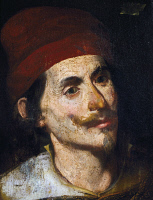 0342382 © Granger - Historical Picture ArchiveHISTORY.   Portrait of Tommaso Aniello d'Amalfi (Naples, 1620-1647), called Masaniello, fishmonger leader of the revolt against the rule of Habsburg Spain in Naples. Full credit: De Agostini / A. Dagli Orti / Granger, NYC -- All rights rese