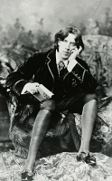 0346701 © Granger - Historical Picture ArchiveLITERATURE & THE ARTS.   Oscar Wilde (1854-1900) Irish writer, in New York in January 1882. Full credit: De Agostini Picture Library / Granger, NYC -- All rights reserved.