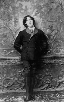 0346702 © Granger - Historical Picture ArchiveLITERATURE & THE ARTS.   Oscar Wilde (1854-1900) Irish writer, in New York in January 1882. Full credit: De Agostini Picture Library / Granger, NYC -- All rights reserved.