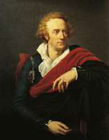 0348133 © Granger - Historical Picture ArchiveLITERATURE & THE ARTS.   Portrait of Vittorio Alfieri (Asti, 1749 - Florence, 1803), Italian poet and playwright. Oil on canvas by Francois-Xavier Fabre (1766-1837), 1793, 93x73 cm. Full credit: De Agostini / A. Dagli Orti / Granger, NYC -- All Rights Reserved.