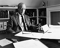 0164249 © Granger - Historical Picture ArchiveERIC AMBLER (1909-1998).   Writer Montreux, Switzerland 1969. Photographed by Horst Tappe.