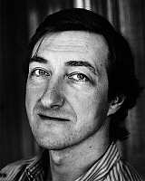 0164289 © Granger - Historical Picture ArchiveJULIAN BARNES (1946-).   Writer Zurich Switzerland 1987. Photographed by Horst Tappe.