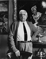0164497 © Granger - Historical Picture ArchiveGIORGIO DE CHIRICO (1888-1978).   Painter Rome Italy 1966. Photographed by Horst Tappe.