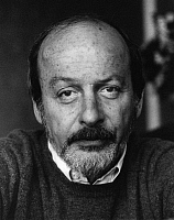 0164573 © Granger - Historical Picture ArchiveEDGAR LAURENCE DOCTOROW (1931-).   Writer editor Vienna Austria 1985. Photographed by Horst Tappe.