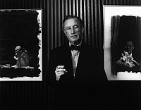 0164620 © Granger - Historical Picture ArchiveIAN FLEMING (1908-1964).   English novelist and creator of James Bond. Photograph by Horst Tappe, 1963.